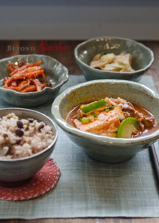Beef Tofu Stew