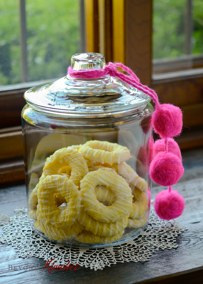 Lemon Ring Cookies, Lemon Jumbles