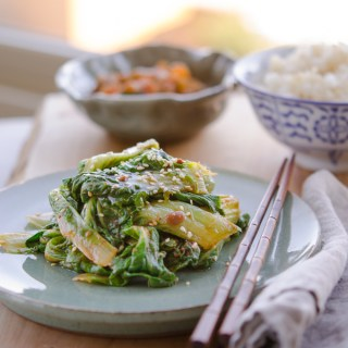 Korean Cabbage with Soybean Paste