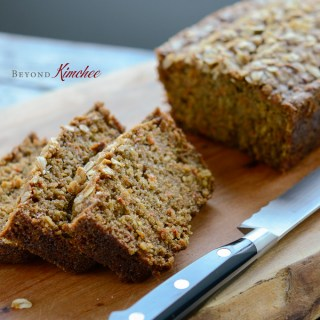 Moist Carrot Oat Bread