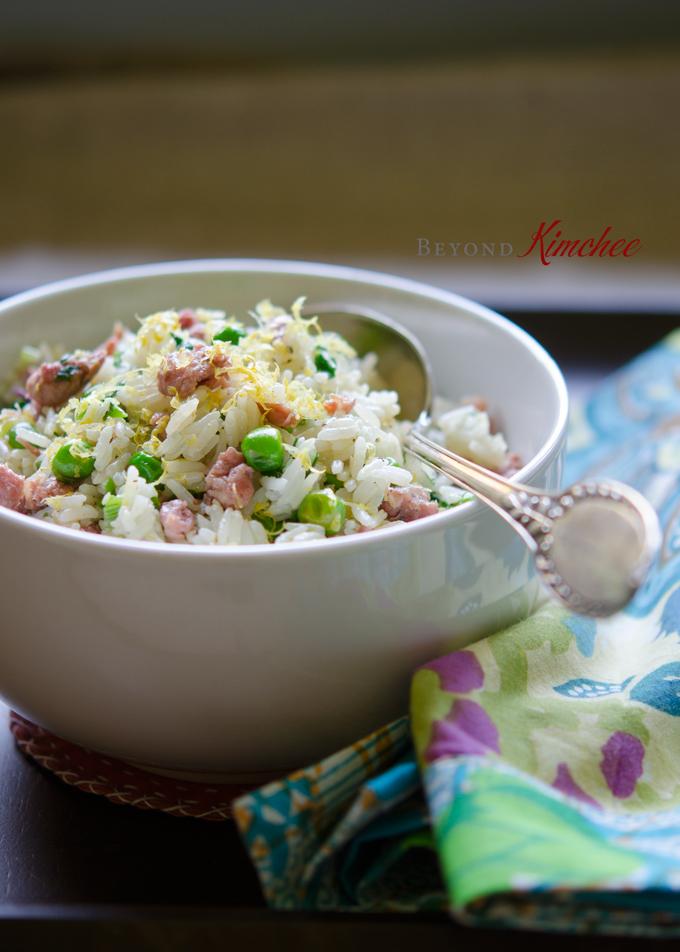 Sausage Lemon Rice