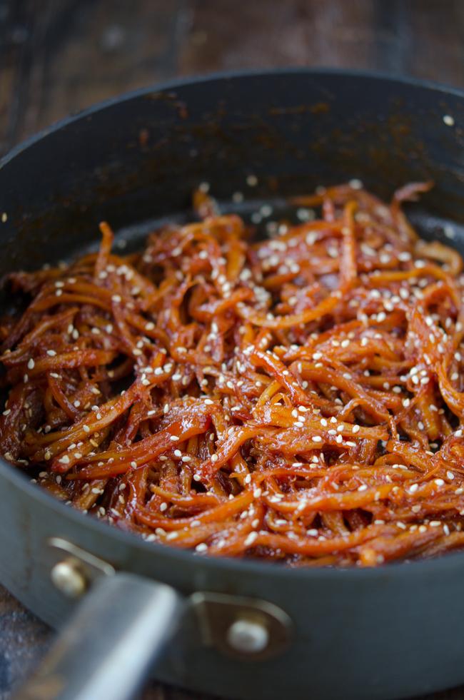 Spicy Shsredded Squid