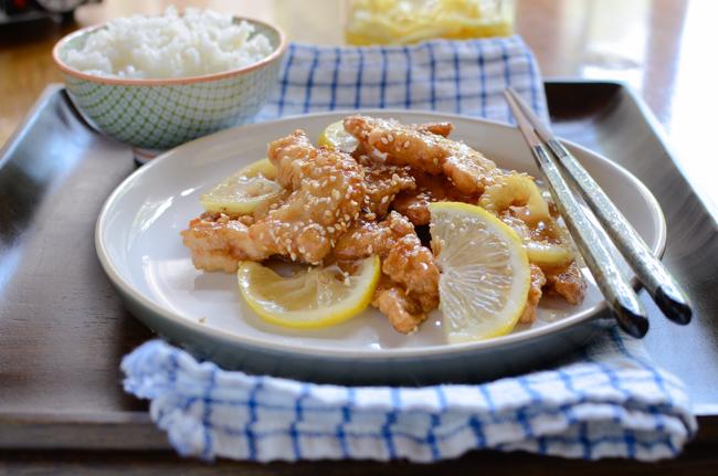 Crispy Lemon Chicken