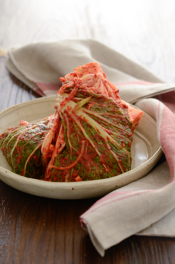 Cabbage Kimchi has been nicely fermented