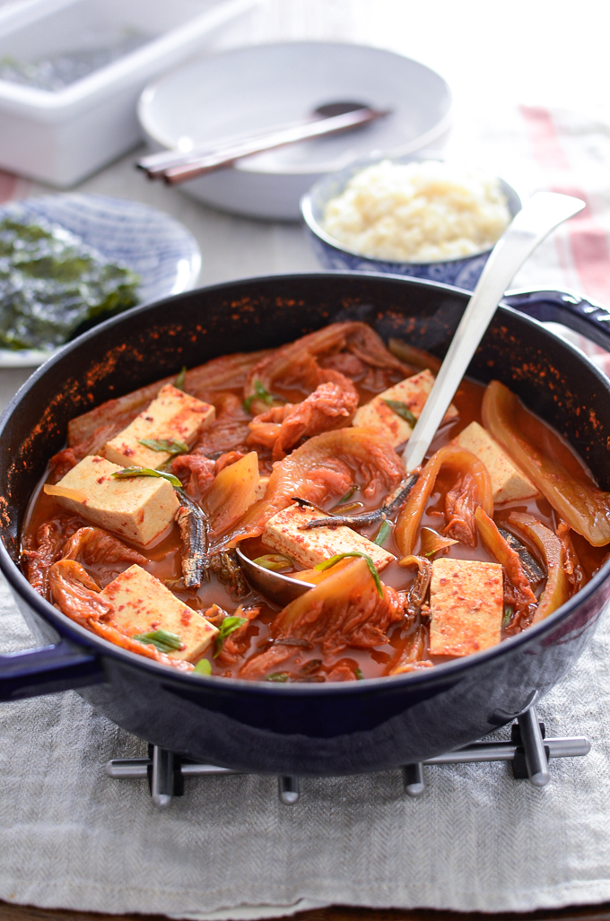 Anchovy Kimchi Stew