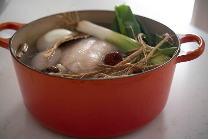 Korean Chicken Noodle Soup