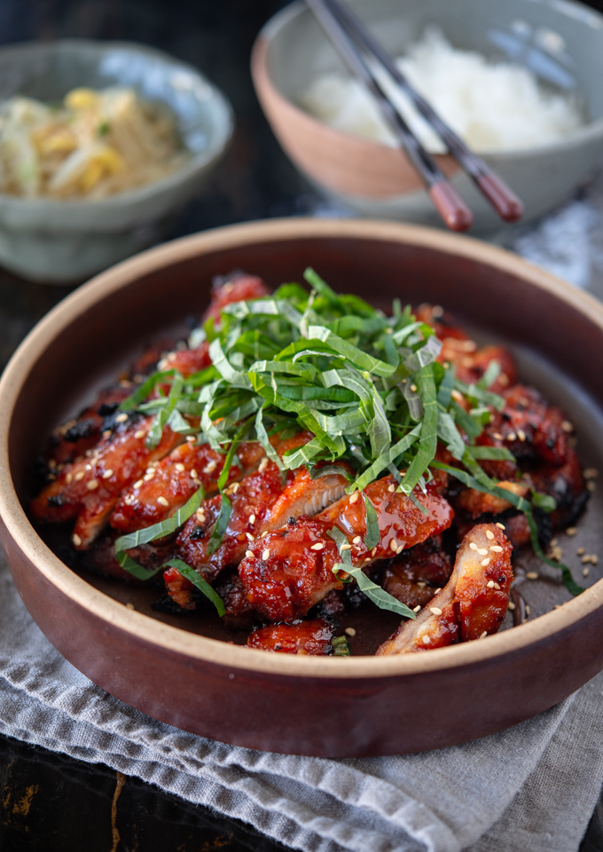 Broiling is an easy alternative cooking method for Korean chicken BBQ