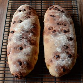 Club Med white chocolate chip bread thumbnail