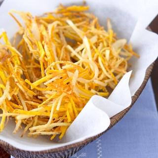 Deep-fried Root Vegetables (Vegetable Tempura)