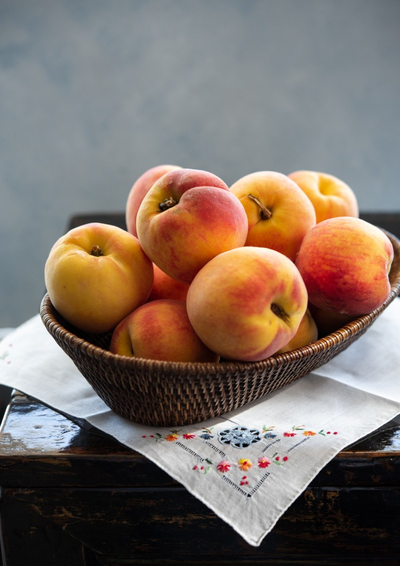 well ripen southern peaches are juicy and sweet