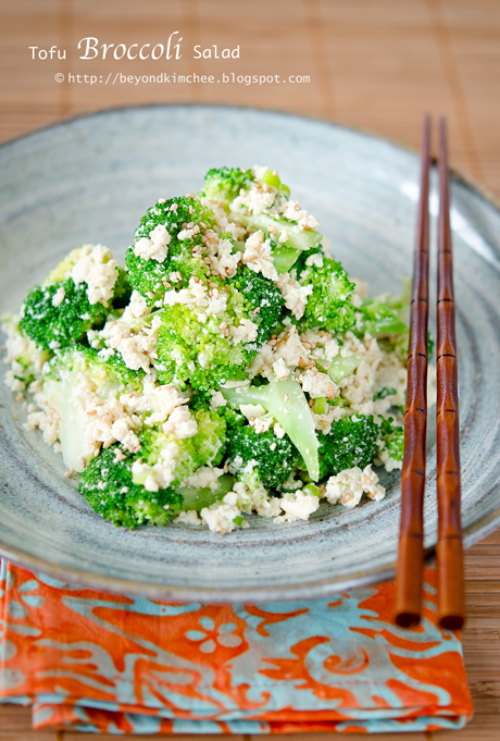 Tofu Broccoli Salad