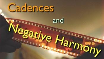 cadences and negative harmony