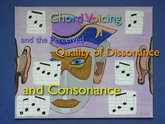 chord voicings and the perceived quality of consonance and dissonance