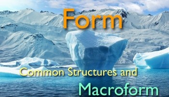 Form - Common Structures and Macroform