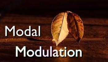 modal modulation