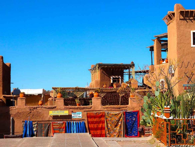 Ouarzazate ciudade famous for its film studios