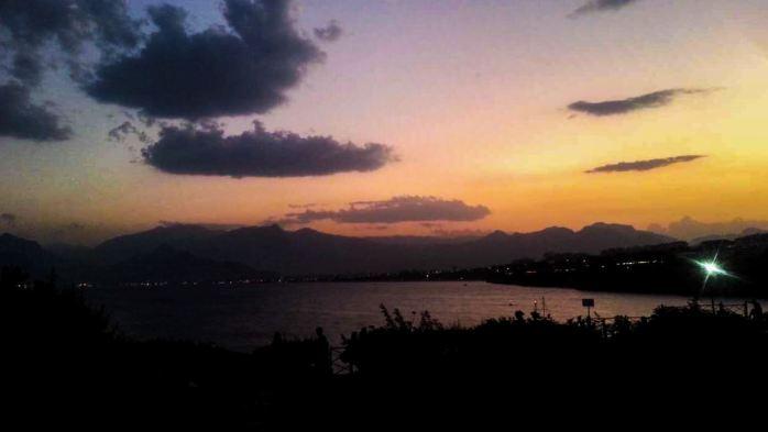 Antalya, Turkey during sunset