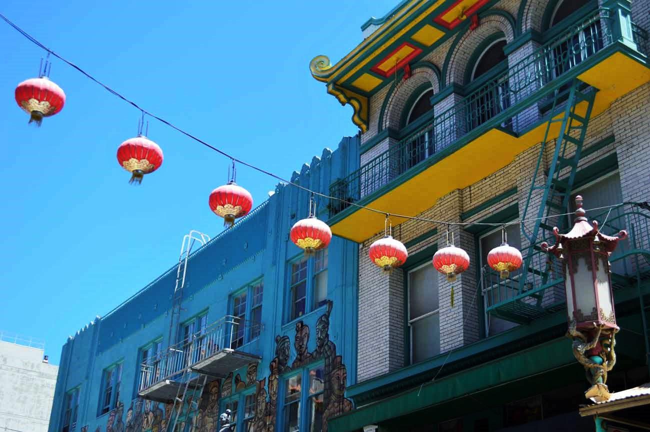 lanterns in Chinatown, San Francisco