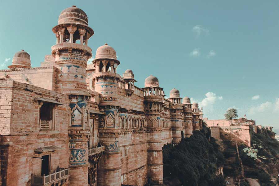 Gwalior Fort India