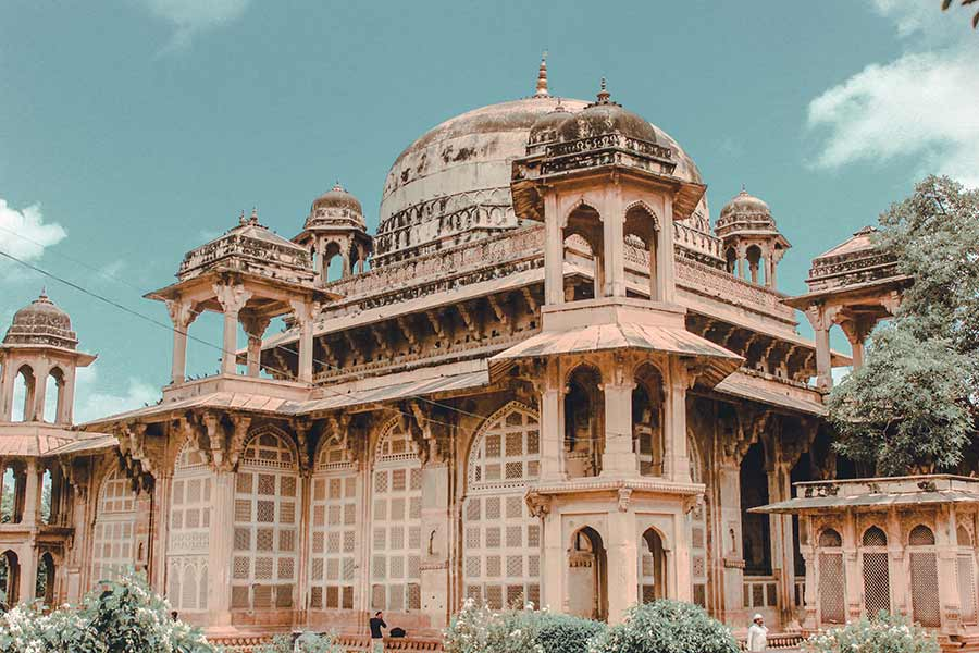 Tomb-Of-Mohammad-Ghaus-Gwalior-India