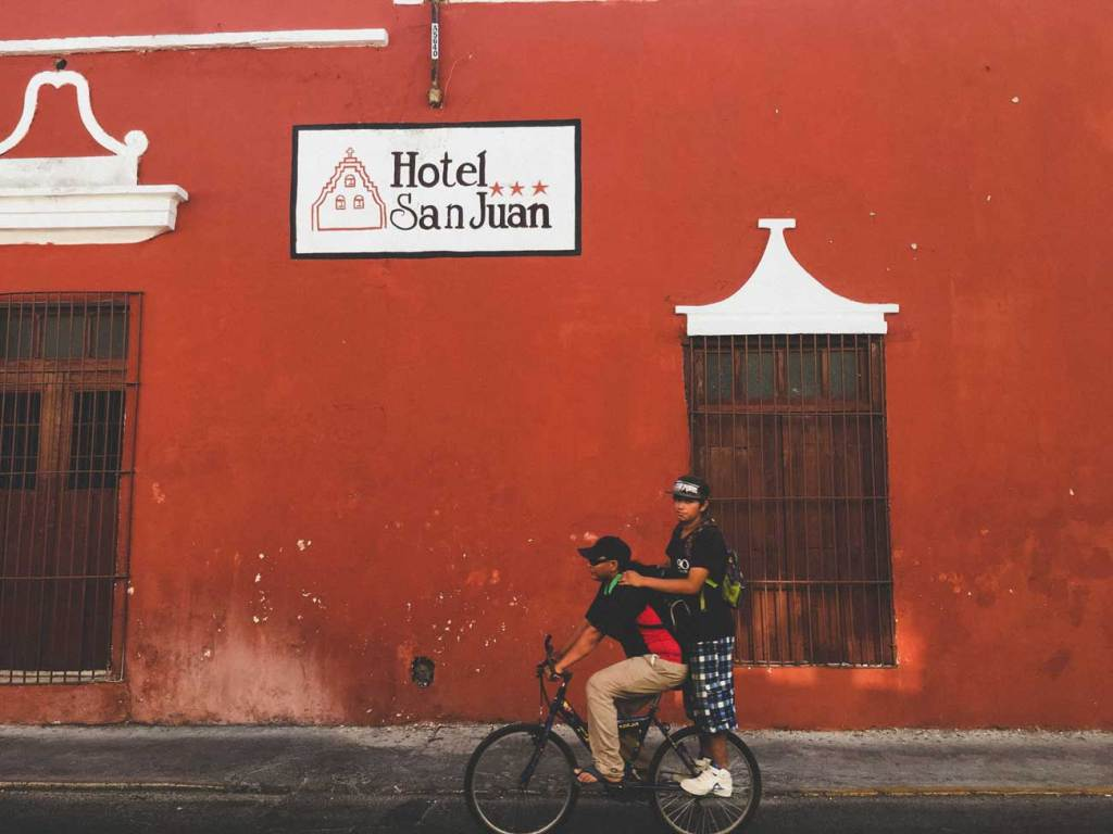 Beautiful Streets in Merida, Mexico, Colorful Roads in the Yucatan Peninsula