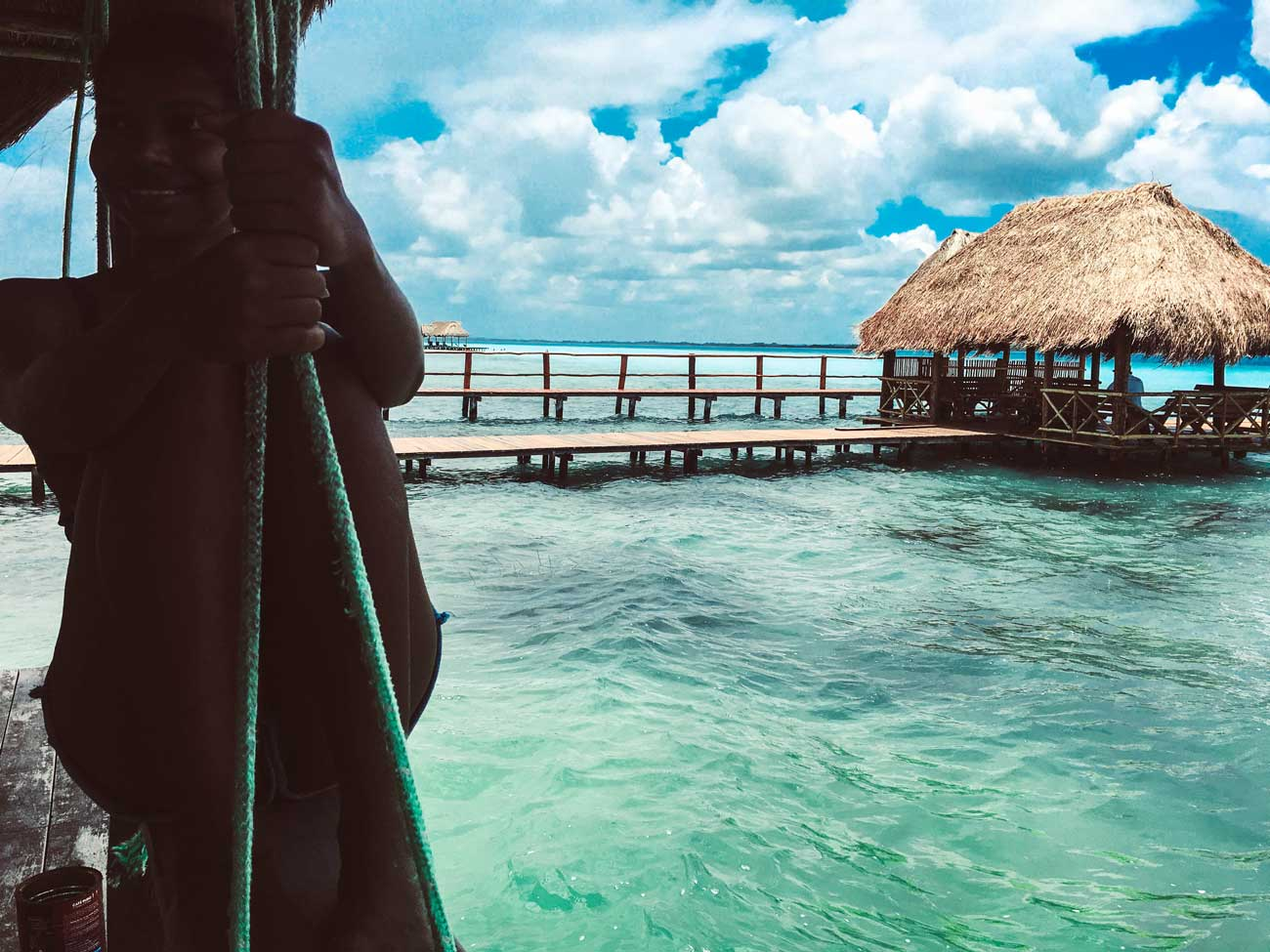 Yucatan Peninsula: Beautiful Day in Bacalar, Mexico, Bacalar Lagoon