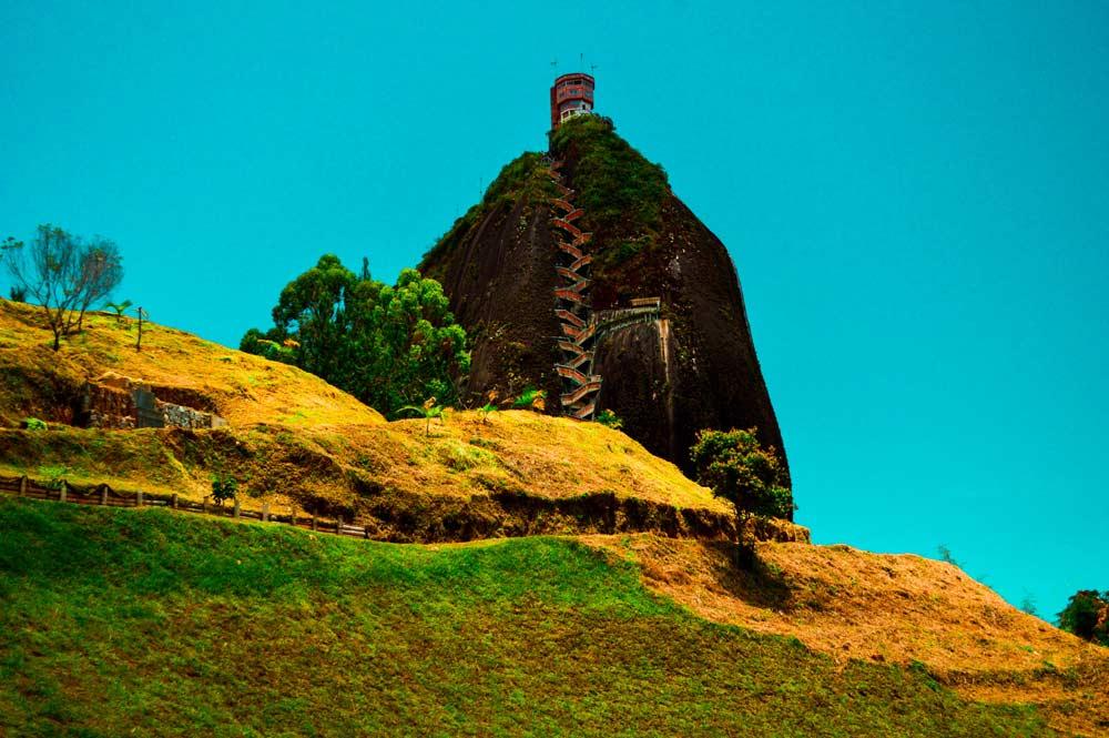 Guatape Colombia La Piedra