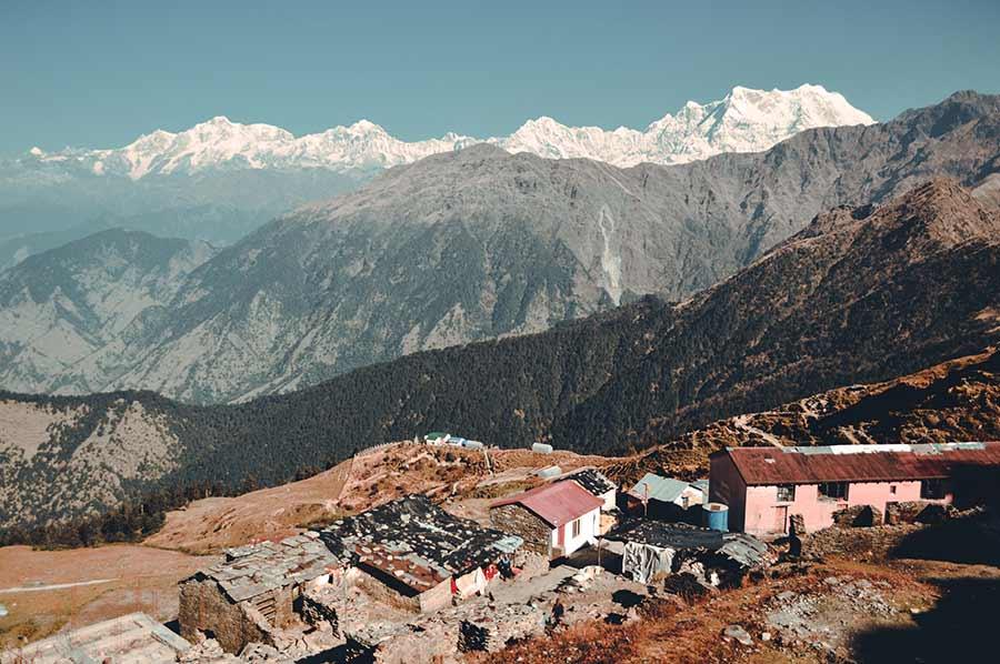 village in chopta india