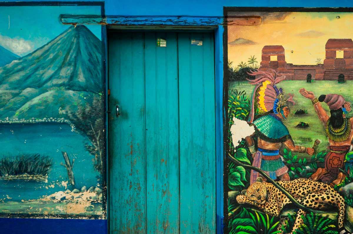 Chasing the Street Art of San Juan La Laguna, Guatemala