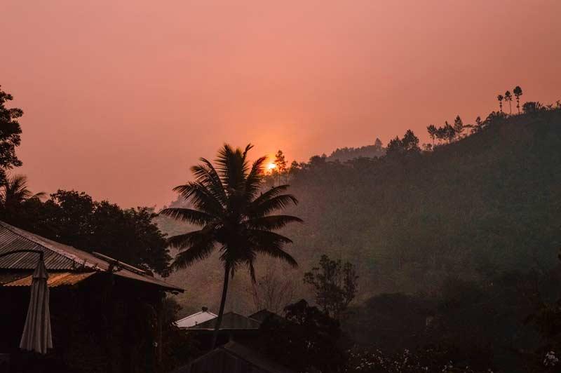 Lanquin Guatemala Sunrise