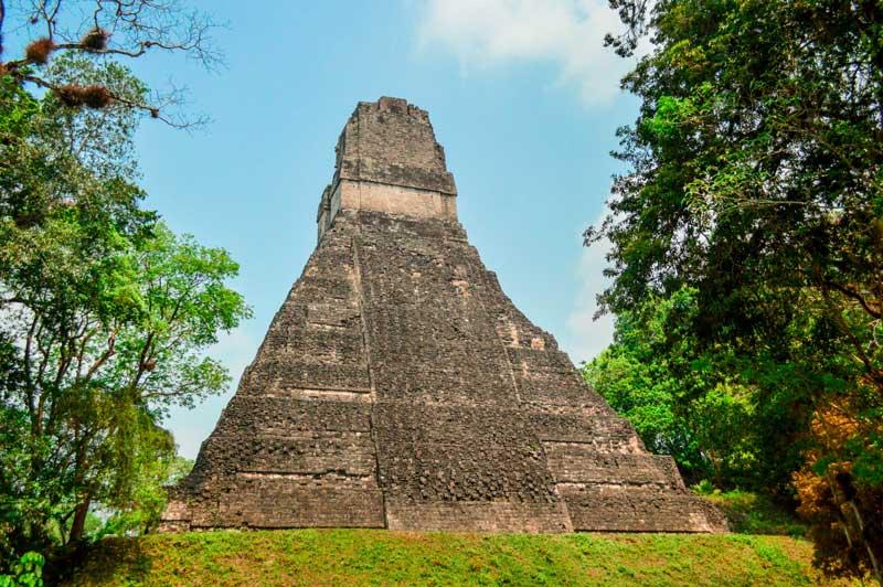 Tikal Temple in Gutemala