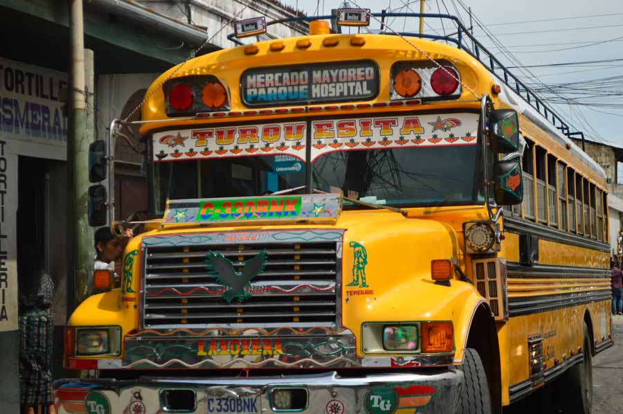 chicken-buses-guatemala