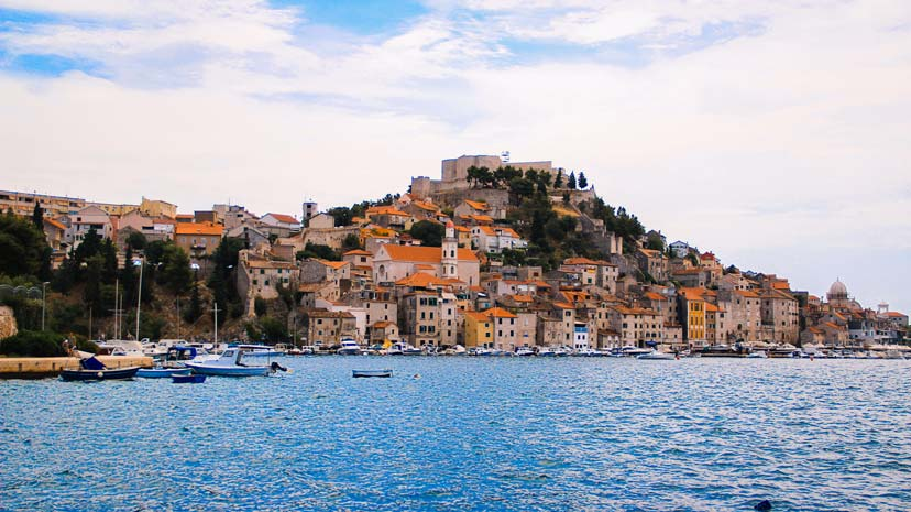 Sibenik-Town croatia