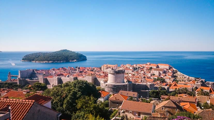 Dubrovnik-Old-Town Croatia in 7 days