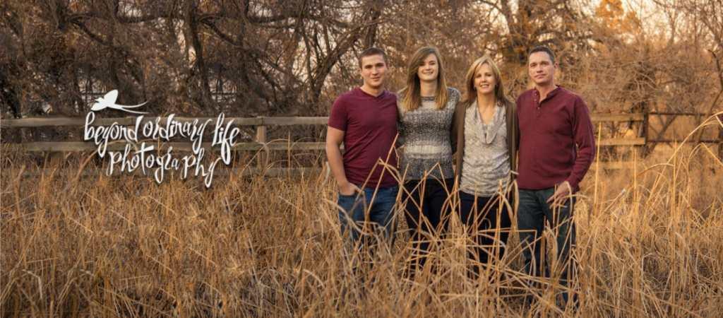 Tulsa Family Portraits, Field, Fall