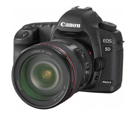 The new Canon EOS 5D mkII