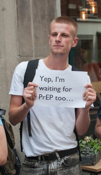 Waiting for PrEP - photo by LewishamDreamer (Flickr)