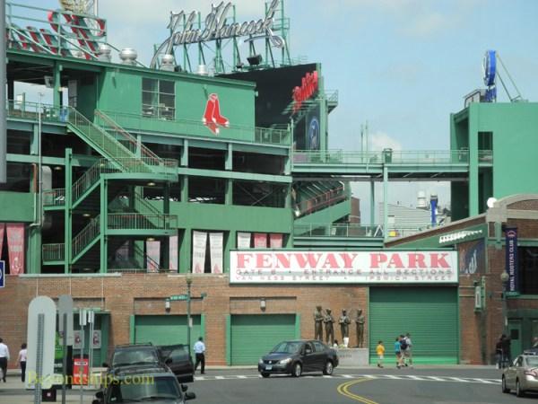 Visiting Boston's Fenway Park