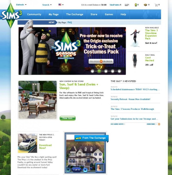 TheSims3.com - NEW AND IMPROVED!!!