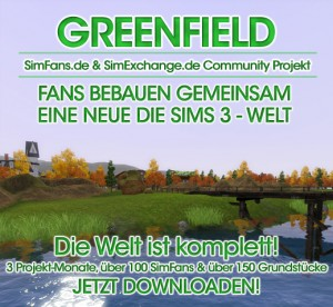 A New Sims 3 World - Greenfield