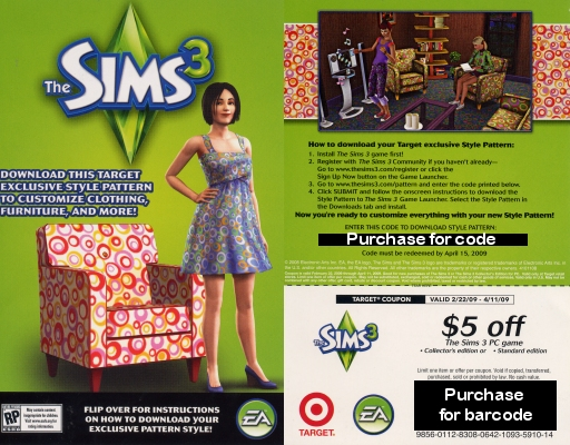 """Detailed look at Target's """"The Sims 3 Introduction"""" promo disk"""