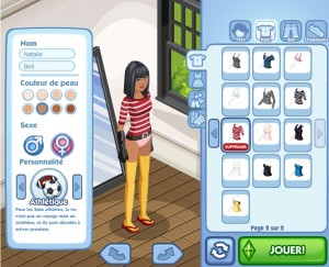 SimCookie Test The Sims Social