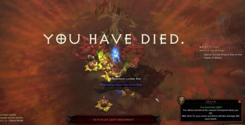 Diablo III Death