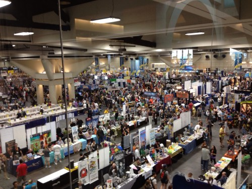 SDCCU Exhibit Hall overview