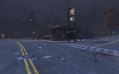 Sycoil Gas Station