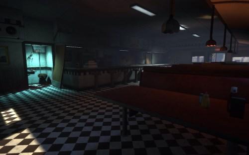 Inside Suzie's Diner