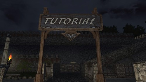 Tutorial sign