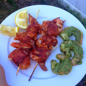 Summer Grilling: Paleo BBQ & Pesto Shrimp