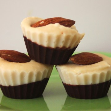 Paleo Mini Almond Joy Candy Cups