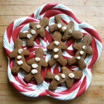 Paleo Parents Guest Post: Gingerbread Men (AIP Friendly)